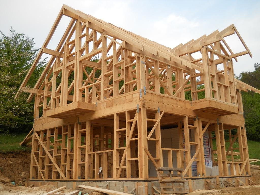 Конструкции каркасных домов фото