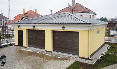 Как правильно поднять гараж